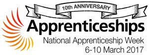 10th anniversary National Apprenticeship Week 2017, traineeships, career progression